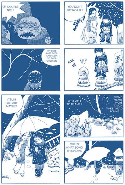 Fukushima Devil Fish book page.