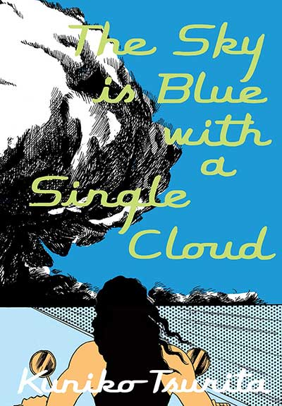 The Sky is Blue with a Single Cloud book page image.