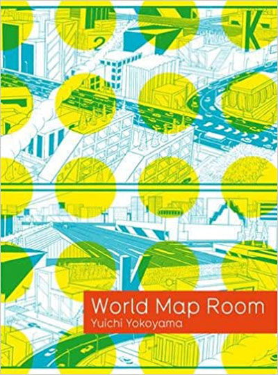 World Map Room book page.
