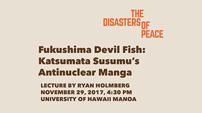 Fukushima Devil Fish talk video still.